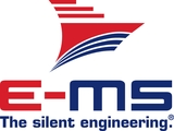 Logo of company E-MS e-powered marine solutions~GmbH & Co. KG